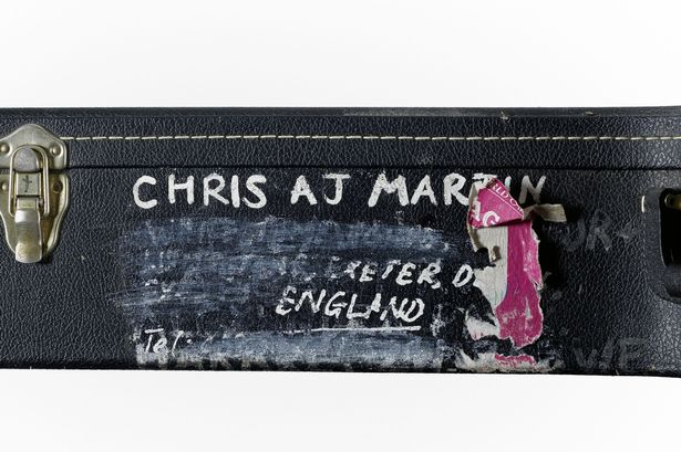 Chris Martin's Details on his Case